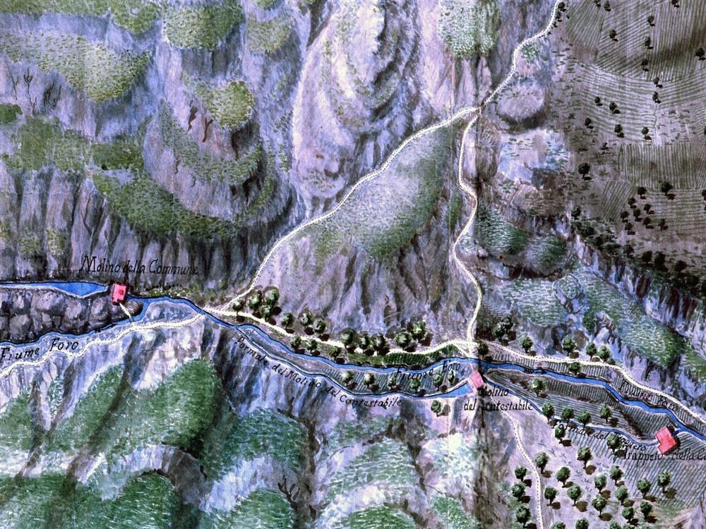 Un'antica Mappa dei Mulini Rupestri